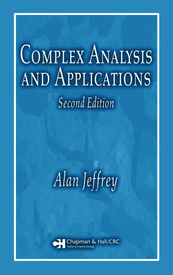 Complex Analysis and Applications book cover