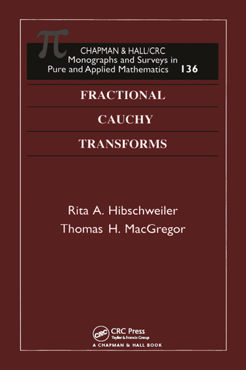 Fractional Cauchy Transforms book cover