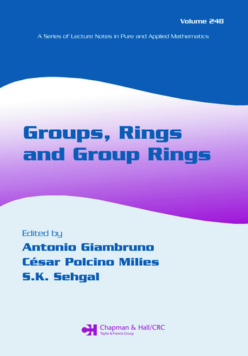 Groups, Rings and Group Rings book cover