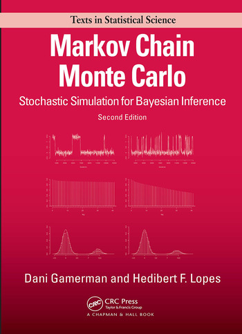 Markov Chain Monte Carlo Stochastic Simulation for Bayesian Inference, Second Edition book cover