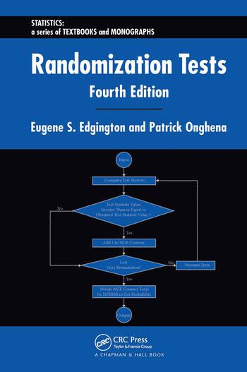 Randomization Tests book cover
