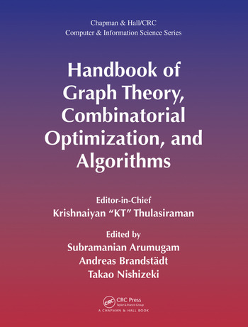 Handbook of Graph Theory, Combinatorial Optimization, and Algorithms book cover