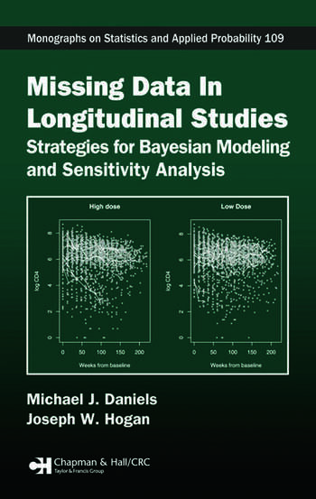 Missing Data in Longitudinal Studies Strategies for Bayesian Modeling and Sensitivity Analysis book cover