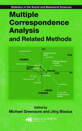 Multiple Correspondence Analysis and Related Methods book cover