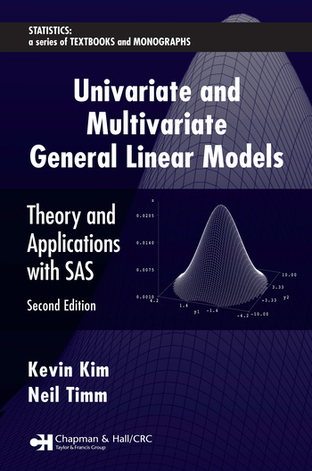 Univariate and Multivariate General Linear Models Theory and Applications with SAS, Second Edition book cover