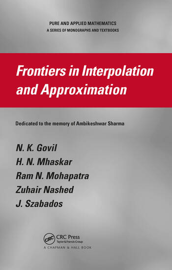 Frontiers in Interpolation and Approximation book cover