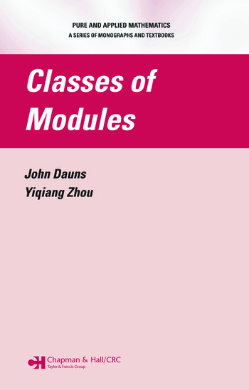 Classes of Modules book cover
