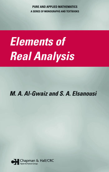 Elements of Real Analysis book cover