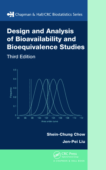 Design and Analysis of Bioavailability and Bioequivalence Studies book cover