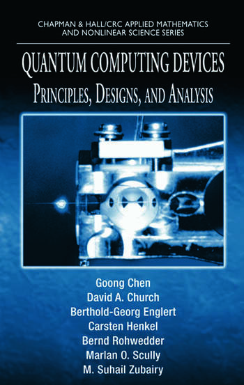 Quantum Computing Devices Principles, Designs, and Analysis book cover