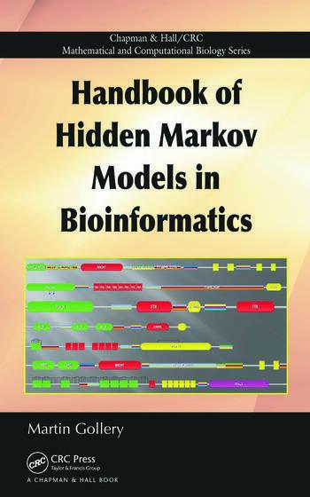 Handbook of Hidden Markov Models in Bioinformatics book cover