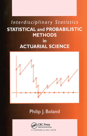 Statistical and Probabilistic Methods in Actuarial Science book cover