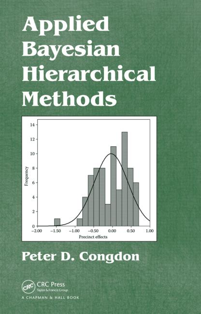 Applied Bayesian Hierarchical Methods book cover