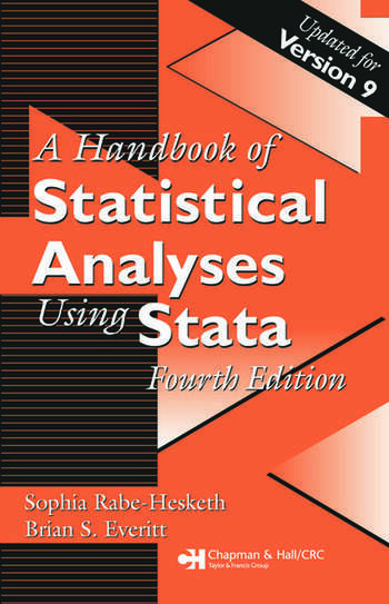 Handbook of Statistical Analyses Using Stata, Fourth Edition book cover