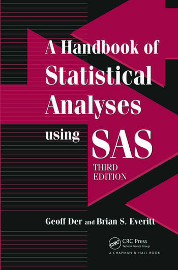 A Handbook of Statistical Analyses using SAS book cover