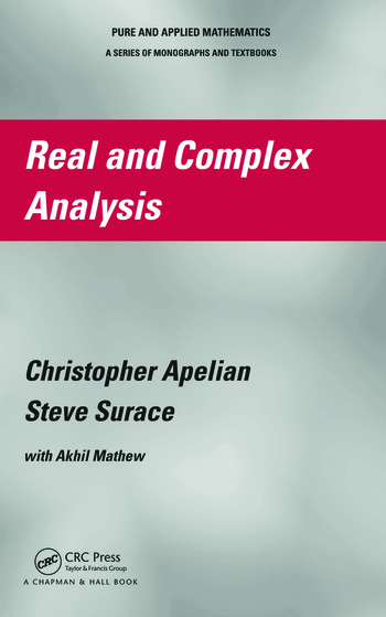 Real and Complex Analysis book cover