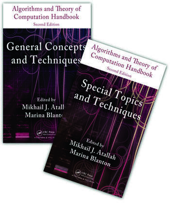 Algorithms and Theory of Computation Handbook - 2 Volume Set book cover