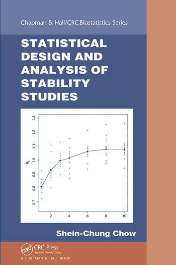 Statistical design and analysis of stability studies crc press book statistical design and analysis of stability studies book cover fandeluxe Gallery