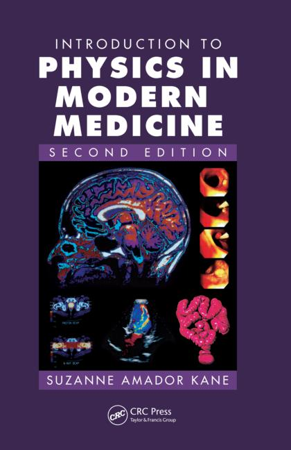 Introduction to Physics in Modern Medicine book cover