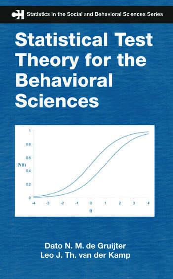 Statistical Test Theory for the Behavioral Sciences book cover