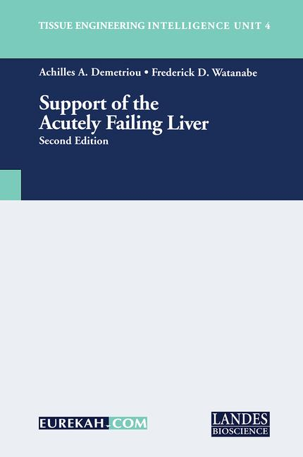 Support of the Acutely Failing Liver book cover