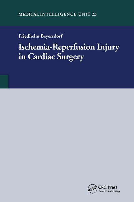 Ischemia-Reperfusion Injury in Cardiac Surgery book cover