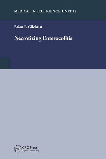 Necrotizing Enterocolitis book cover