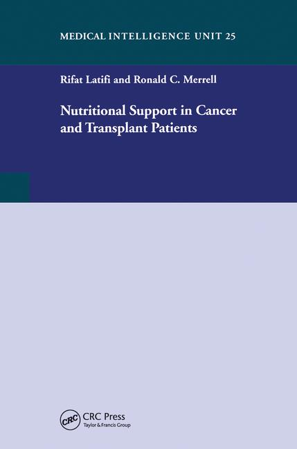 Nutritional Support in Cancer and Transplant Patients book cover