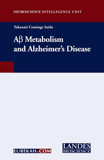 A-Beta Metabolism and Alzheimer's Disease book cover