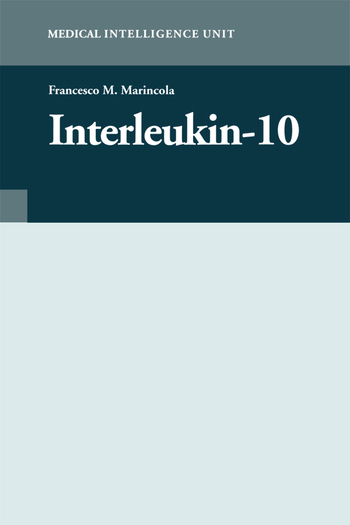 Interleukin-10 book cover