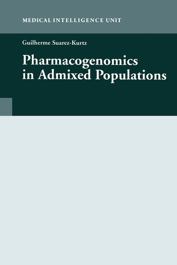 Pharmacogenomics in Admixed Populations book cover