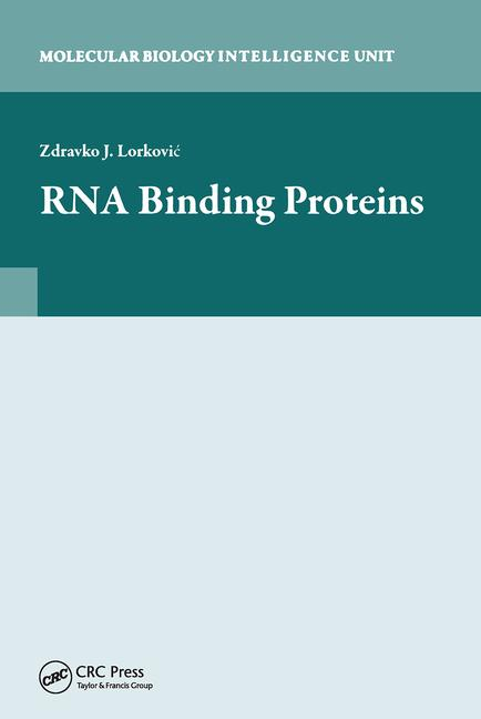 RNA Binding Proteins book cover