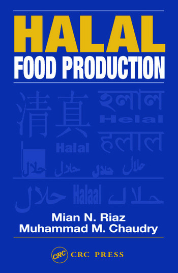 Halal Food Production book cover