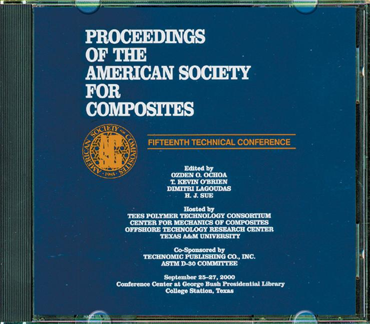 American Sociey of Composties, Fifteenth International Conference (CDROM) book cover