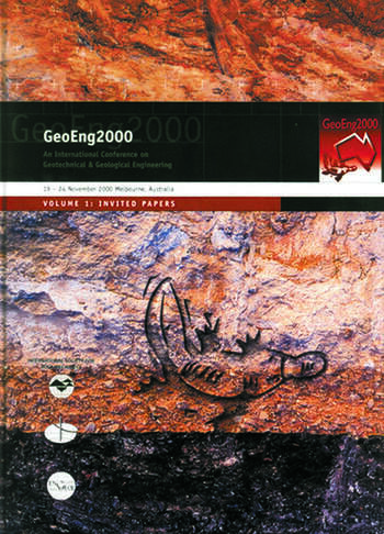 GeoEng 2000 Invited Papers book cover