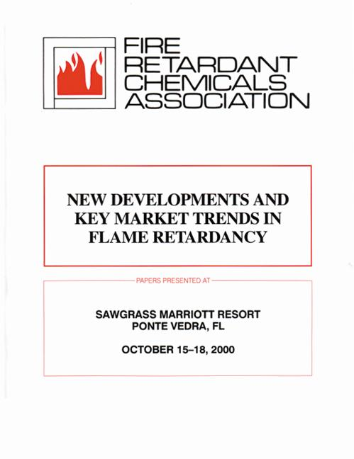 Frca New Developments and Key Market Trends in Flame Retardancy book cover