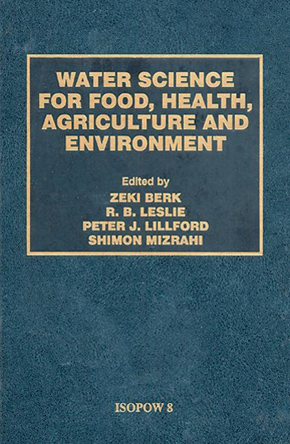 Water Science for Food Health book cover