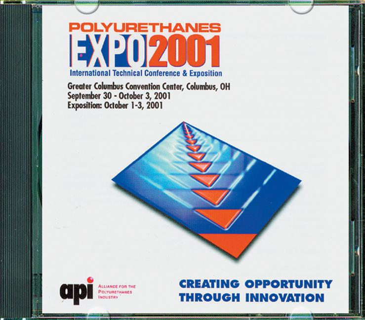 API Polyurethanes Expo 2001 on CDROM book cover