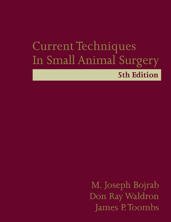 Current Techniques in Small Animal Surgery book cover