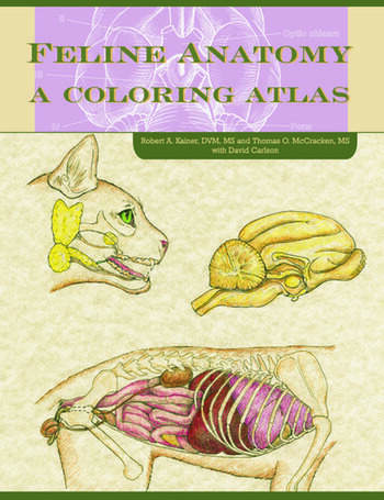 Feline Anatomy A Coloring Atlas