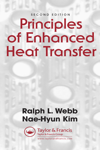 Principles of Enhanced Heat Transfer book cover