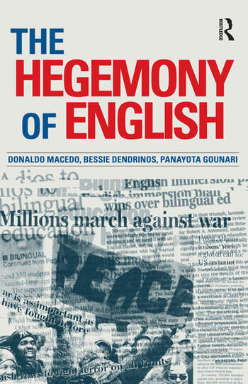 Hegemony of English book cover