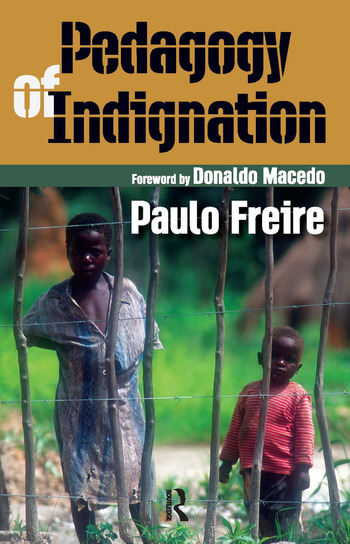Pedagogy of Indignation book cover
