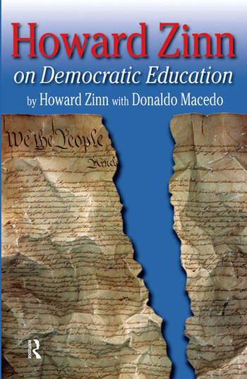 Howard Zinn on Democratic Education book cover