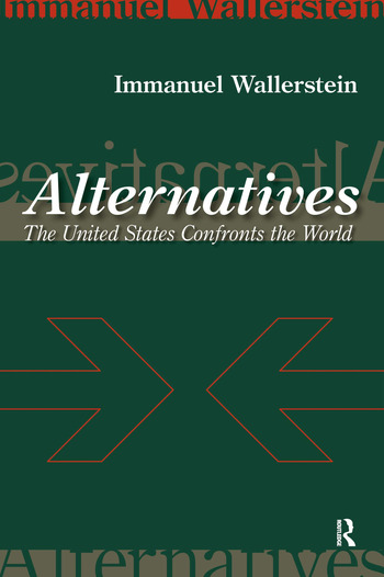 Alternatives The United States Confronts the World book cover