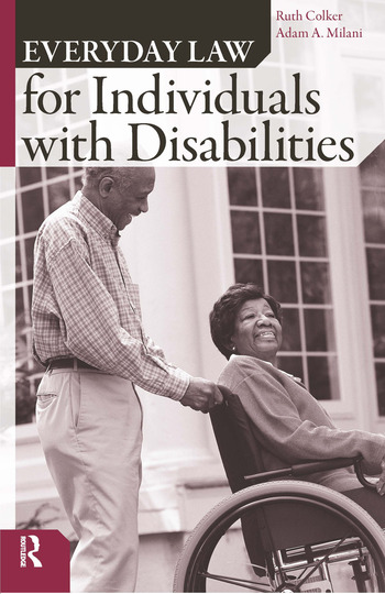 Everyday Law for Individuals with Disabilities book cover