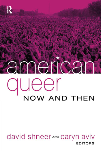 American Queer, Now and Then book cover