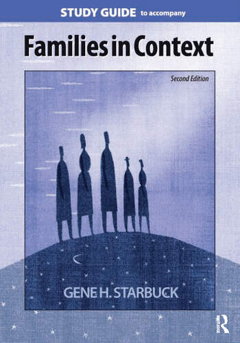Families in Context Study Guide book cover