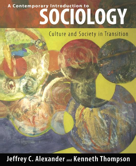 Contemporary Introduction to Sociology Culture and Society in Transition book cover