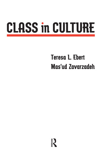 Class in Culture book cover
